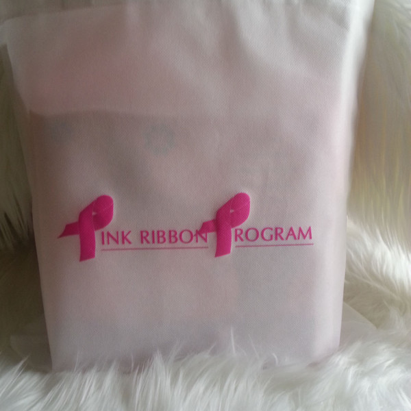 Pink Ribbon Program Tote Bag