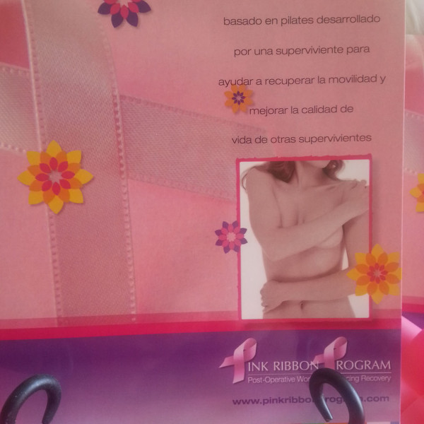 Pink Ribbon Program Exercise manual in Spanish